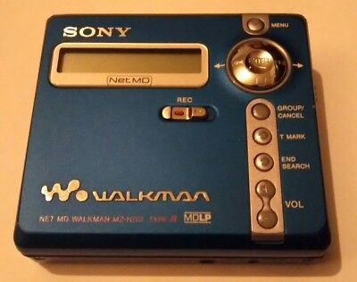Sony Net MD MZ-N707 Type R Personal MiniDisc Player Tested