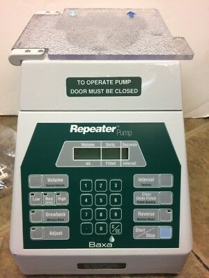 Baxa 099R Repeater Pump Medical Equipment