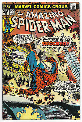Amazing Spider-Man #152 (January 1976, Marvel Comics) Shocker Appears MVS Intact