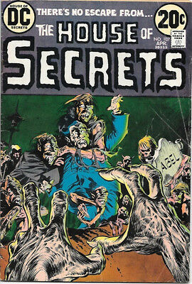 House of Secrets Comic Book #107 Wrightson Art DC Comics 1973 VERY GOOD