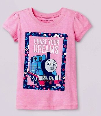 Girls Thomas & Friends Graphic Shirt New with Tags sz 4T Thomas the Train Kids