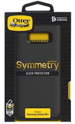 NEW OEM Otterbox Symmetry Series Case for the Samsung Galaxy S8+ Plus - Black