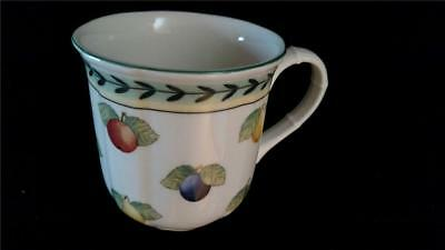"Villeroy & Boch French Garden Fleurence Coffee Mug Cup 3-1/2"" Diam. Germany"