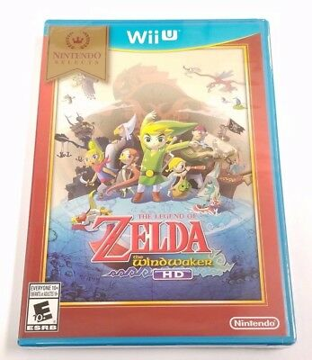 Legend of Zelda: The Wind Waker HD Nintendo Selects (Nintendo Wii U, 2016)