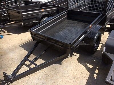 BRAND NEW 7X4 BOX TRAILER HEAVY DUTY 1 Year Rego ON THE SPOT !!!