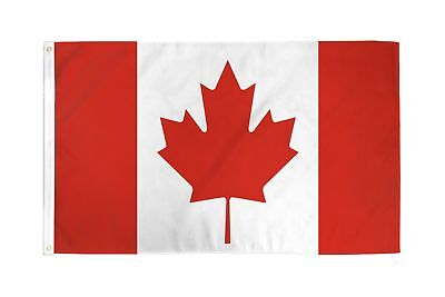 Large 3 x 5 High Quality Long Lasting Canadian DuraFlag - Free Shipping