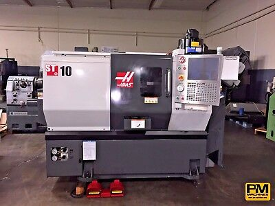 2010 HAAS ST-10 , Parts Catcher, Tool Pre-setter, Tailstock, Mist Collector
