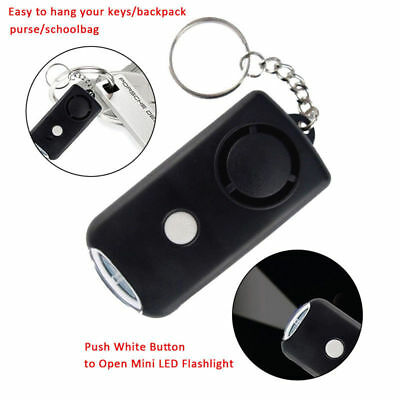 Anti-rape Device Tools Alarm Loud Alert Attack Panic Keychain Safety Personal