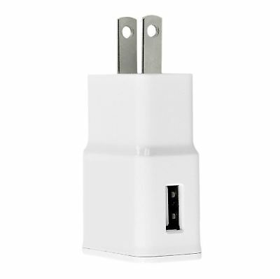 100 X USB Home Wall Adapter for Samsung Galaxy S4 S5 S6 VI Note 3 2A Charger