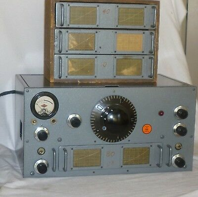 National  HRO-5  Late gray  cabinet color,  coils  works good