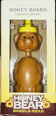 RARE Honey Bear Bobblehead by the National Honey Board (New in Box)