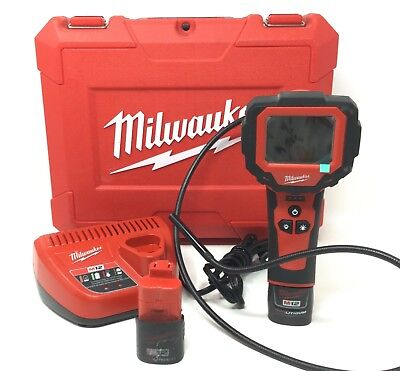 Milwaukee 2313-20 12V Cordless M-Spector 360 Rotating Inspection Scope w/Case