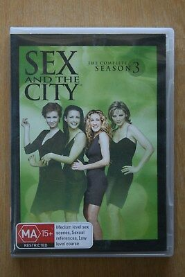 Sex And The City : Season 3 (DVD, 2006, 3-Disc Set)    Preowned (D214)