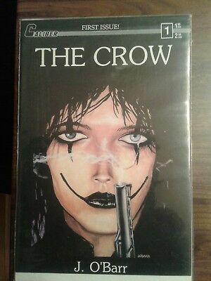 The Crow #1 -- Second Appearance of the Crow