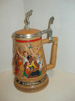 Vintage Basketball Stein for AVON Handcrafted in Brazil, 1993 Collection, #62615