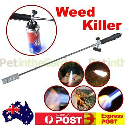 Weed Killer Grass Shrub Garden Kill Burner Fire Kit Handle Butane Gas Torch