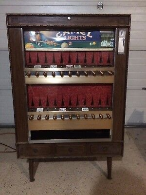 VINTAGE National Vendors Series 222 Cigarette Machine - PRICE REDUCED!