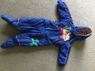 winter snow overall for a baby / toddler