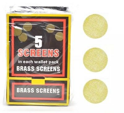 """25 Pipe Screens Brass 3/4"""" .750"""" 19mm FREE SHIPPING"""