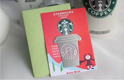 Starbucks Stainless Steel, Alumnium, BookMark, Venti, Frap, with Gift Envelope