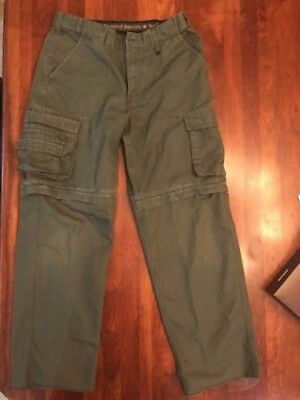 Boy Scout™ Youth Canvas Convertible Classic Fit Pants, Size 16, Excellent Cond