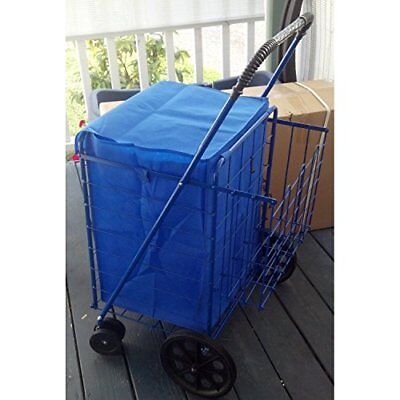 Folding Shopping Cart Liner Cover Bag Water Resistant Liner Only JUMBO AND LARGE