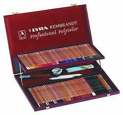 Lyra Rembrandt Professional Polycolor Wooden Box Set