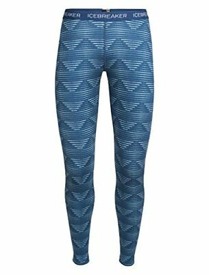 Icebreaker Femme Oasis Legging Diamond Line Bodyfit XS Ice Blue/Largo