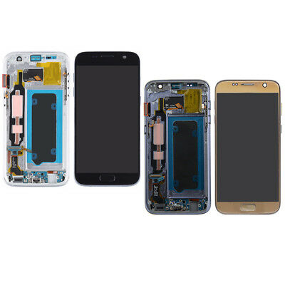 For Samsung Galaxy S7 G930 LCD Screen Digitizer Display With Frame Assembly