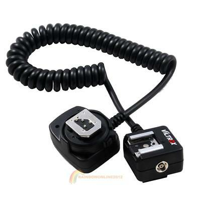 80cm Waterproof TTTL Off-Camera Flash Light Hot Shoe Sync Cord Cable for Nikon