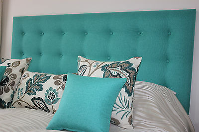 New Bed Head King Single Size Buttoned Upholstered Bedhead / Headboard Furniture