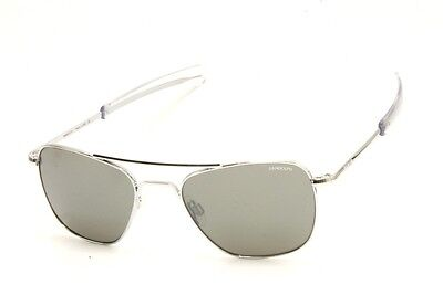 b3f37577d6 Occhiale Sole   Sunglasses Randolph Aviator Af53663 55Mm Bright Chrome Flash