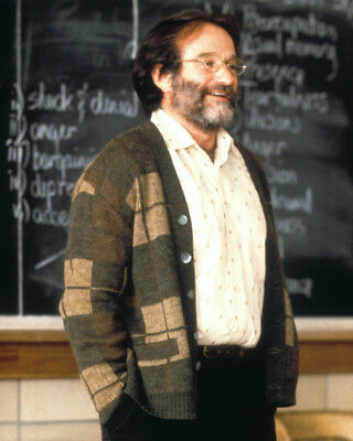 Good Will Hunting Robin Williams In Class Room Teacher 8X10 Photo