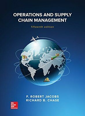 Operations and Supply Chain Management (Jacobs) | McGraw Hill Higher Education