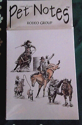 Rodeo Group Note Cards