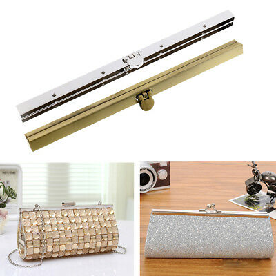 Metal Bag Purse Frame Lock for Evening Clutch Purse Making Bag Accessories 19cm
