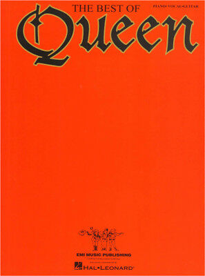 Queen The Best of Songbook Noten Klavier Gesang Gitarre