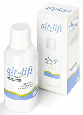 Air Lift Mouthwash Immediate Elimination Of Bad Breath 0% Alcohol 250ml