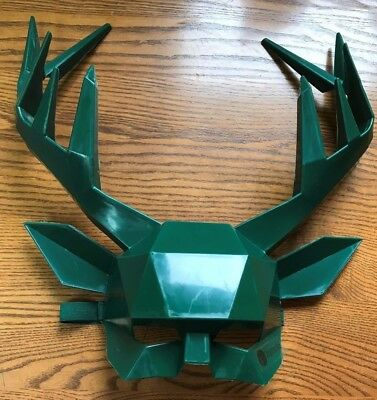 JAGERMEISTER STAG Mask RARE PROMO 2017 HALLOWEEN PROMO NEW