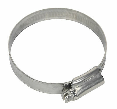 Sealey SHCSS2A Hose Clip Stainless Steel �44-64mm Pack of 10
