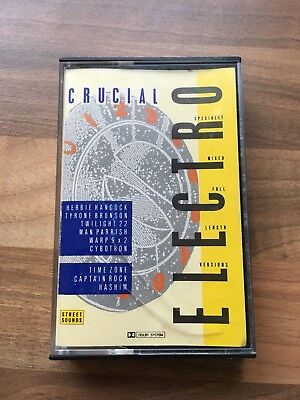 STREET SOUNDS pres CRUCIAL ELECTRO Classic 1984 Old Skool Tape HERBIE HANCOCK