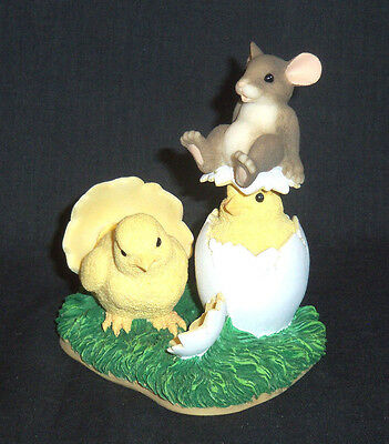 """Silvestri's Charming Tails by Dean Griff """"What's Hatchin?"""" (Easter) - NIB"""