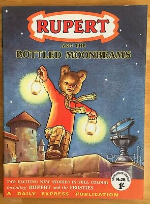 RUPERT Adventure Series No 28 Bottled Moonbeams 1956 Very FINE Ex-Shop Stock
