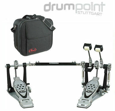 Pearl P-1002C Power Shifter Pro Doppelfußmaschine Doppelpedal & Case  *TOPDEAL*