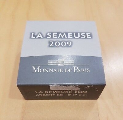 France Coffret Officiel BE Proof 10 Euro Argent La Semeuse  2009