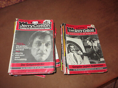 30 Romanhefte Jerry Cotton G-Man Jerry Cotton
