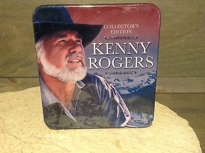 KENNY ROGERS, 3 CD Box Set (Limited Edition Tin), Kenny Rogers Collector's Editi