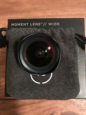 Moment Wide Lens 18mm for iPhone 6/6S, used