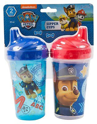 Nickelodeon PAW Patrol Chase Sippy Cups, Blue, 2 Count