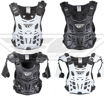 Fly Racing Revel Adult Chest Roost Guard Protector Deflector Motocross MX/ATV